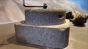 römische Getreidemühle aus Basalt